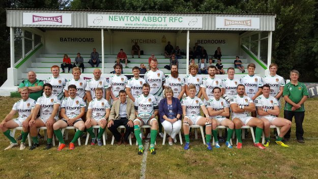 Antheus Sponsors Newton Abbot Rugby Club